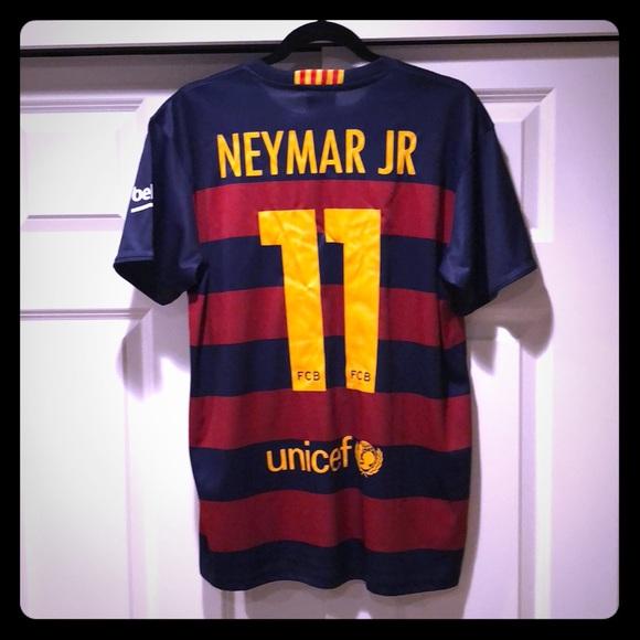 Shirts Neymar Jr Barcelona Jersey Poshmark